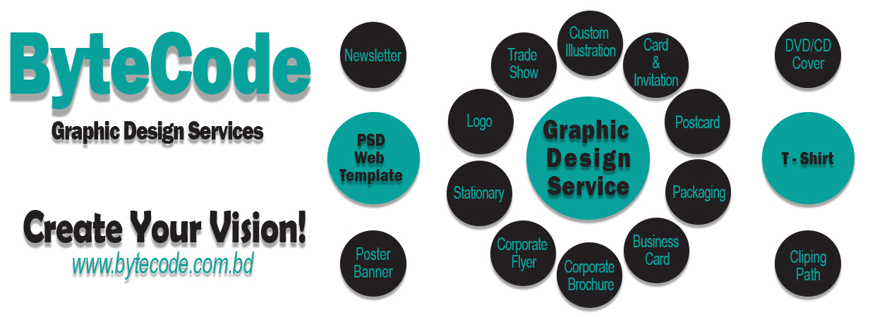 graphic-design service by bytecode