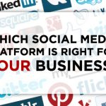 Use the right social media for your company