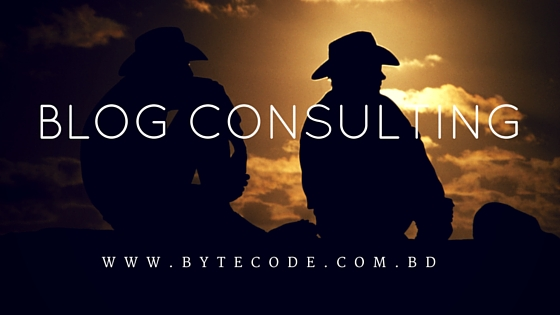 Blog Consulting
