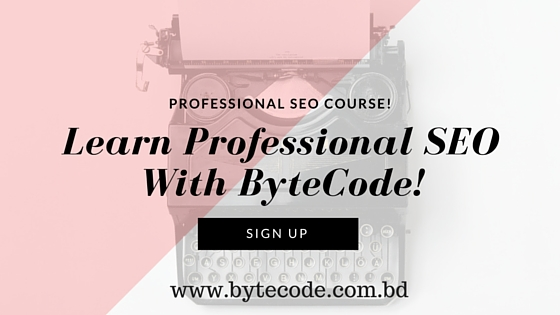Do Professional SEO Course with ByteCode