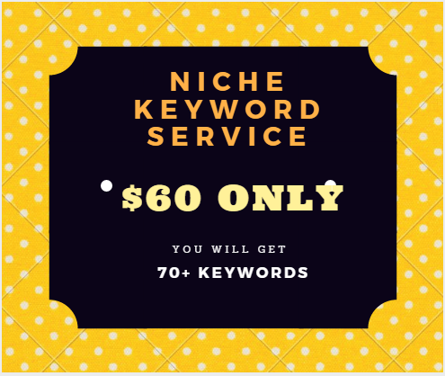 NIche Keyword Research Service