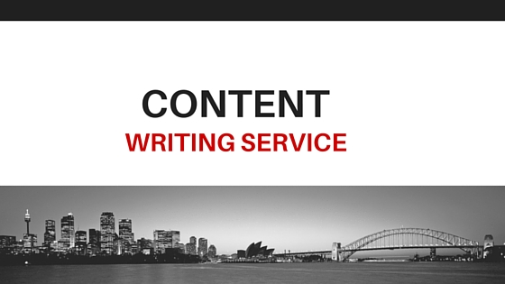 High Quality content writing service