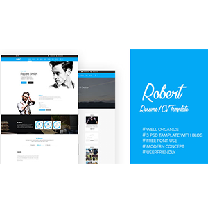 robert-psd-template