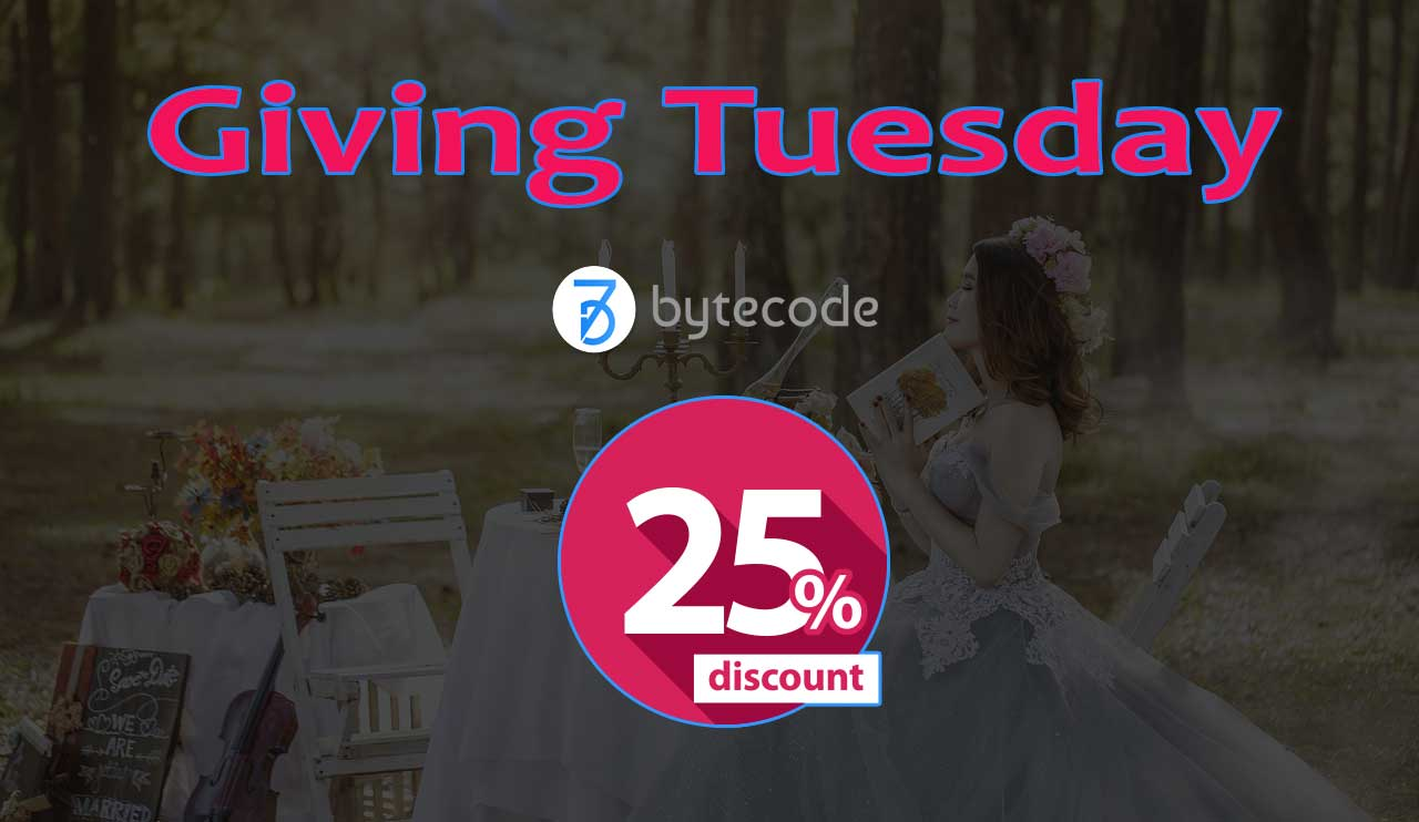Giving Tuesday Discount From ByteCode